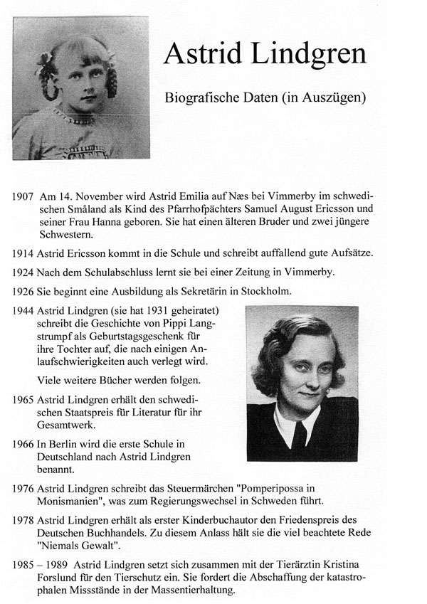 Lebenslauf Von Astrid Lindgren 14